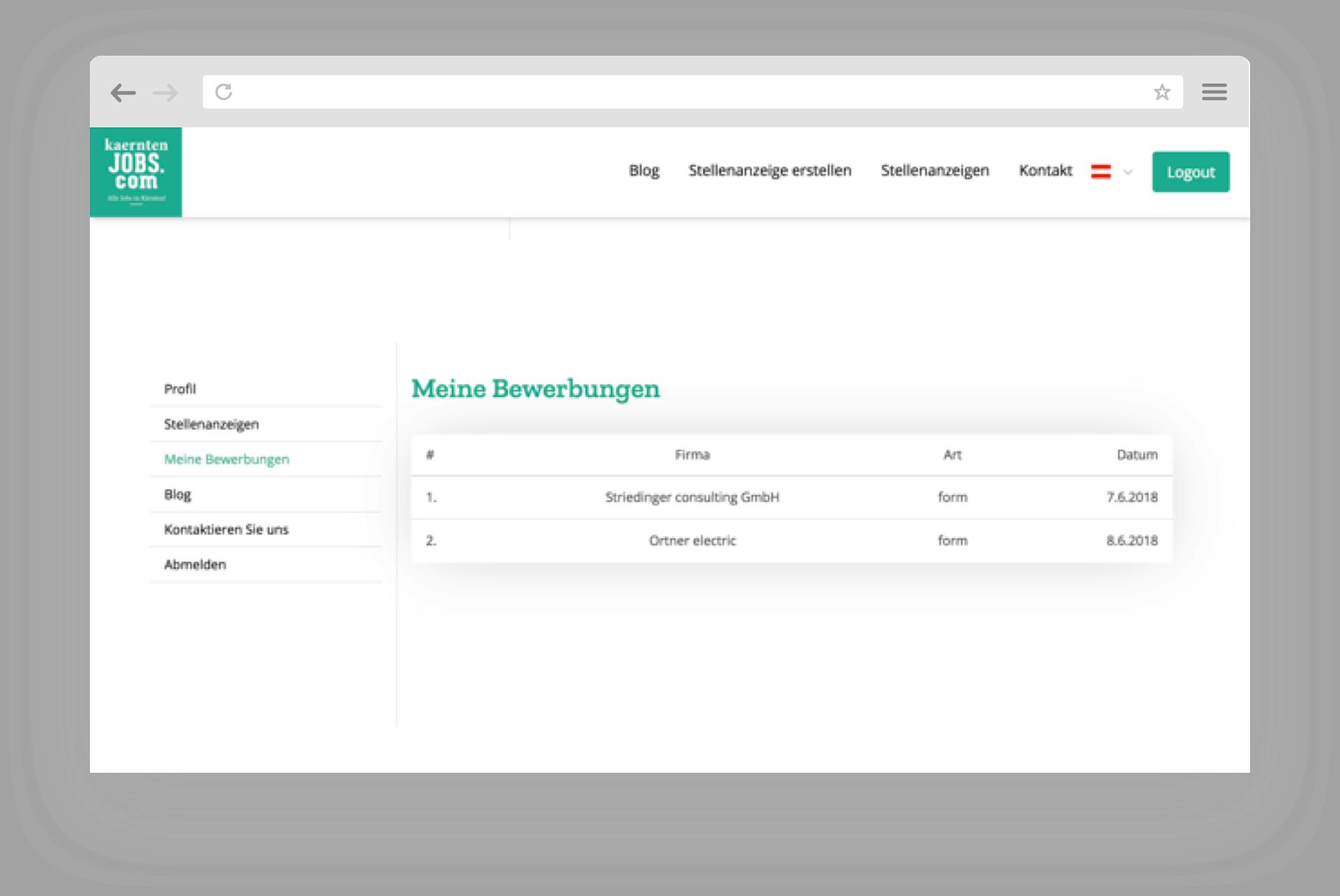 Steiermarkjobs.com Applications